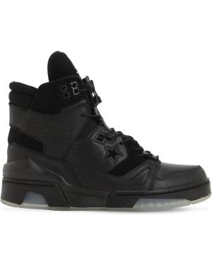 Czarne sneakersy skorzane sznurowane Converse X The Soloist