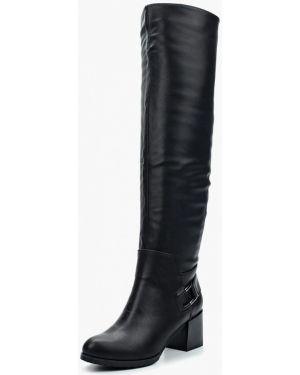 Ботфорты на каблуке кожаные Zenden Woman