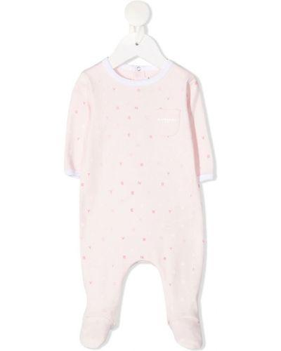Body krótki rękaw - różowy Givenchy
