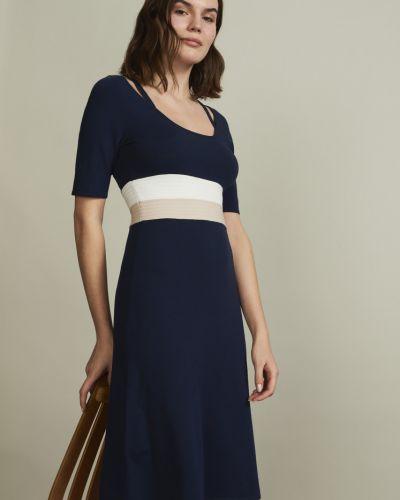 Платье миди с короткими рукавами Stefanel