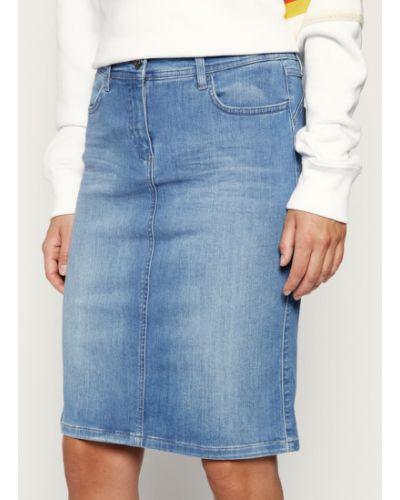 Niebieska spódnica jeansowa Laurel