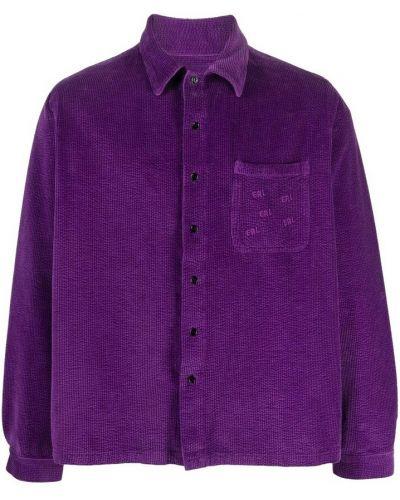 Fioletowa koszula Erl