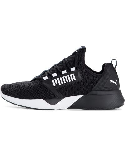 Кроссовки беговые черные на шнуровке Puma
