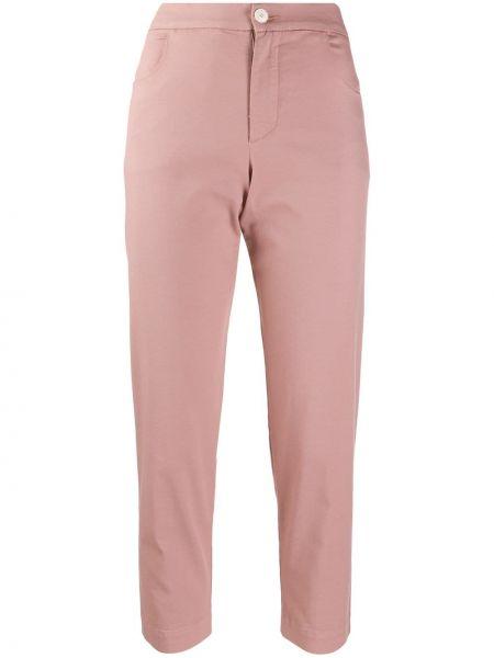 Укороченные брюки розовый брюки-хулиганы Barena