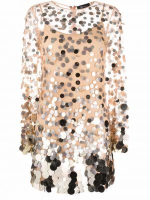 Платье с пайетками Blumarine