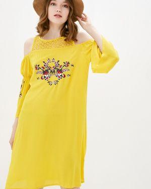 Желтое платье Relax Mode