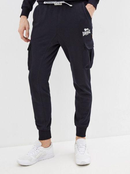 Синие спортивные спортивные брюки Lonsdale