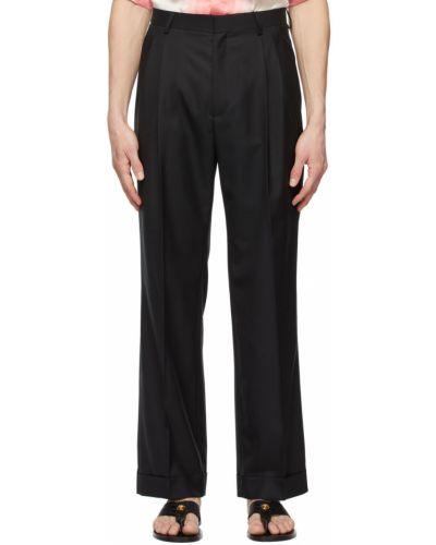 Шерстяные брюки - черные Casablanca