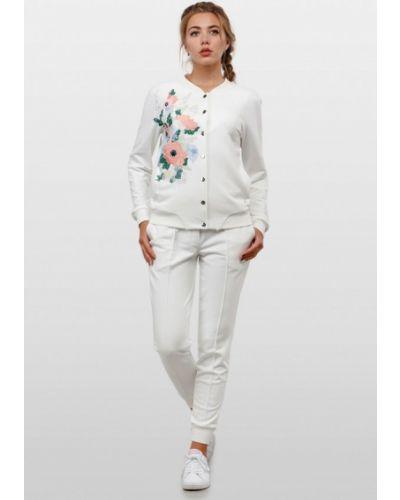 Спортивные брюки белые весенний O&j