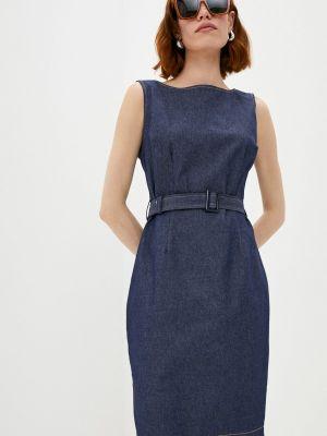 Джинсовое платье - синее Vittoria Vicci