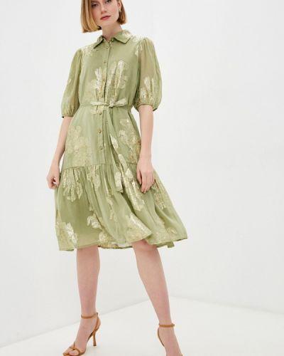 Зеленое вечернее платье B.young