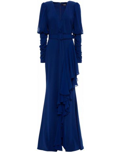 Sukienka z paskiem Badgley Mischka