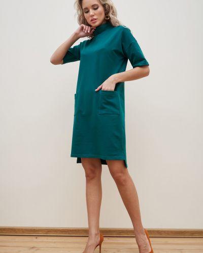 Повседневное прямое трикотажное спортивное платье Valentina