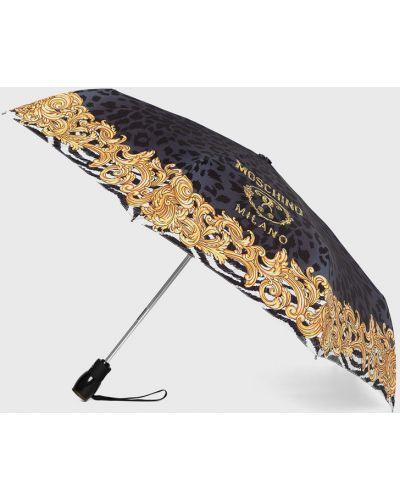 Parasol czarny Moschino