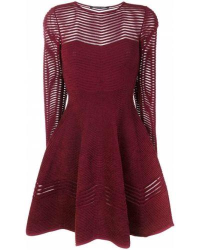 Платье макси с длинными рукавами - розовое Antonino Valenti