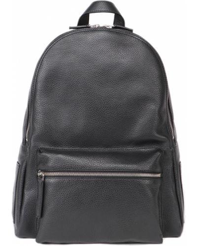 Czarny plecak Orciani