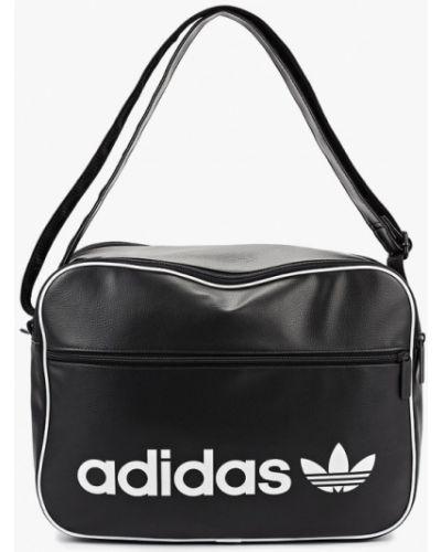 Кожаная сумка Adidas Originals