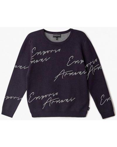 Синий свитер Emporio Armani