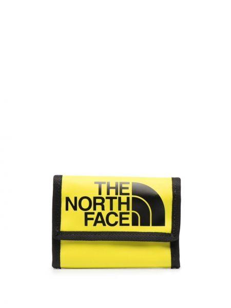 Czarny portfel na monety z printem The North Face
