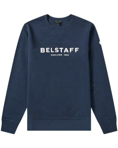 Niebieska bluza dresowa Belstaff