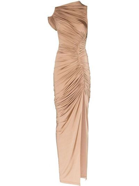 Облегающее платье с разрезом Mugler