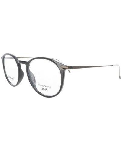 Szare okulary Hugo Boss
