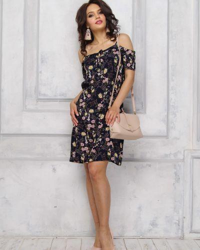 Платье мини платье-сарафан из вискозы Leleya