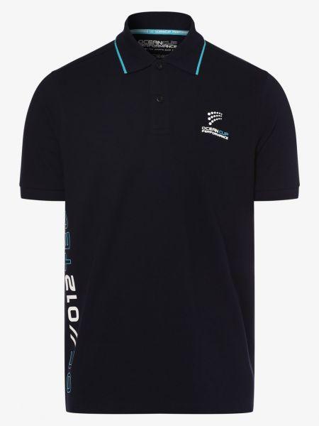 Niebieski t-shirt na co dzień Ocean Cup