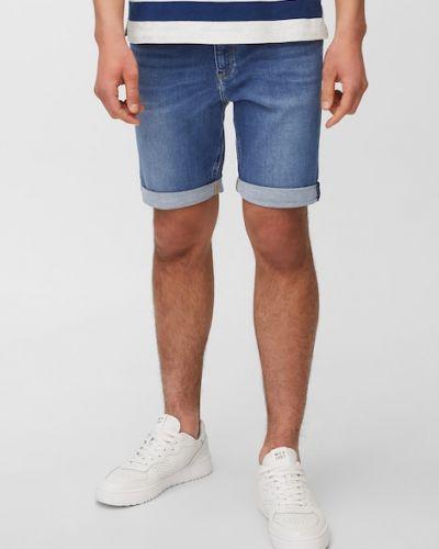 Niebieskie jeansy z niskim stanem Marc O Polo
