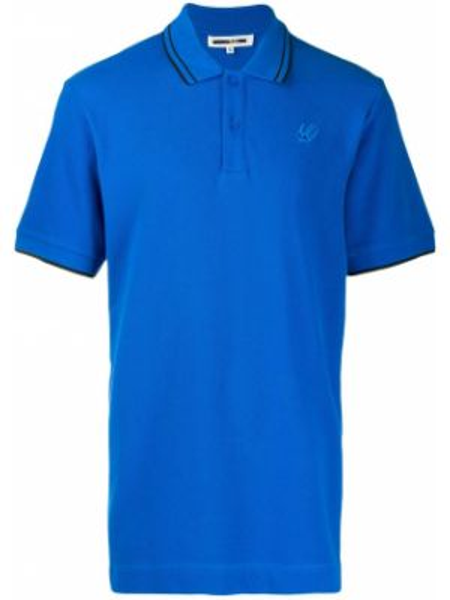 Koszula w paski - niebieska Mcq Alexander Mcqueen