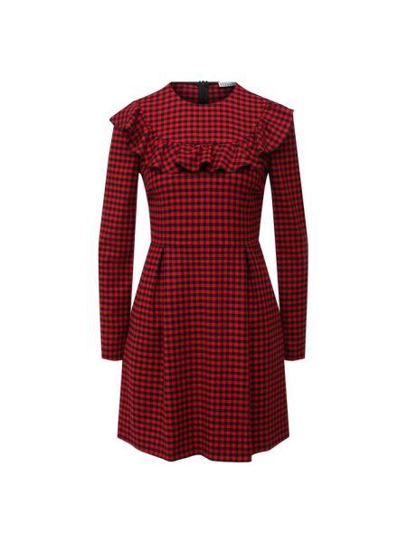 Шерстяное платье Redvalentino