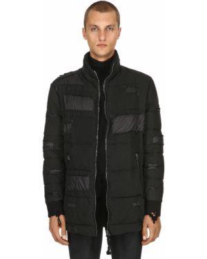 Prążkowana czarna kurtka vintage As65