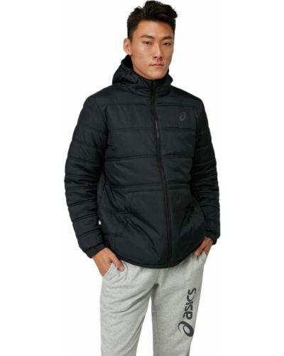 Куртка на молнии - черная Asics