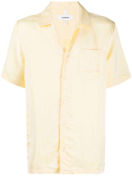 Koszula krótkie z krótkim rękawem prosto bielizna Soulland