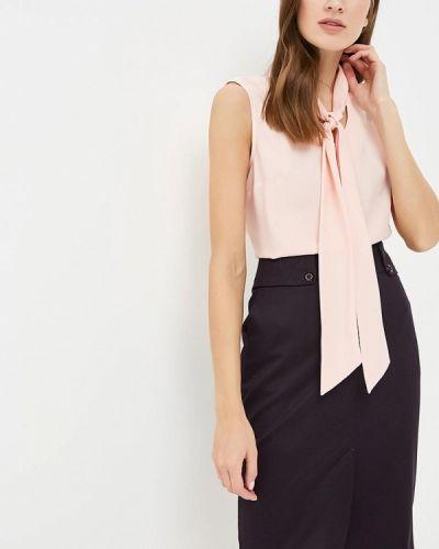 Блузка розовая с бантом Classik-t