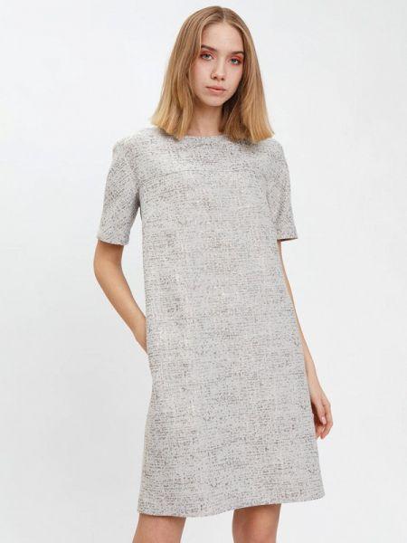 Платье - серое Bizzarro