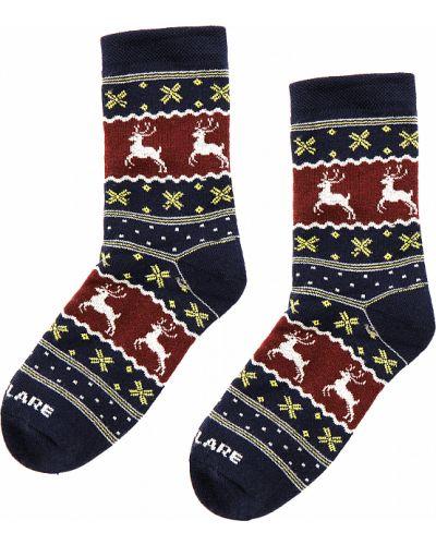 Хлопковые синие носки Finn Flare