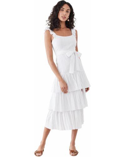 Платье с декольте - белое Likely