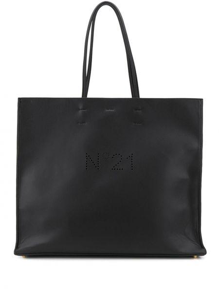 Torba na torbę na zakupy czarna N°21