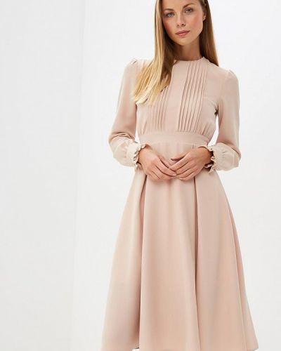 Платье осеннее бежевое Tutto Bene