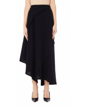 Шерстяная юбка - черная Yohji Yamamoto