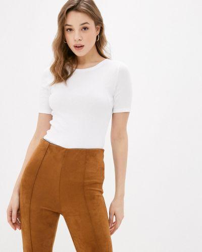 С рукавами белая футболка Marks & Spencer