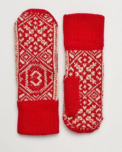 Перчатки текстильные красный True Spin