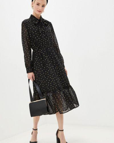 Платье - черное Yumi