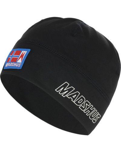 Черная спортивная шапка для бега Madshus