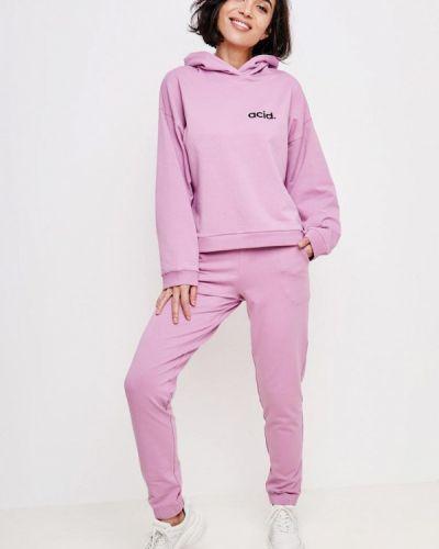Костюмный фиолетовый спортивный костюм Jolifashn