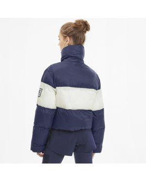 Синяя куртка винтажная Puma