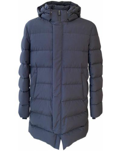 Płaszcz z piórami Herno