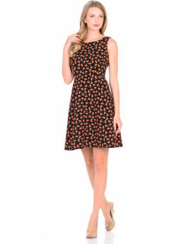 Платье без рукавов на молнии с круглым вырезом Rosa Blanco