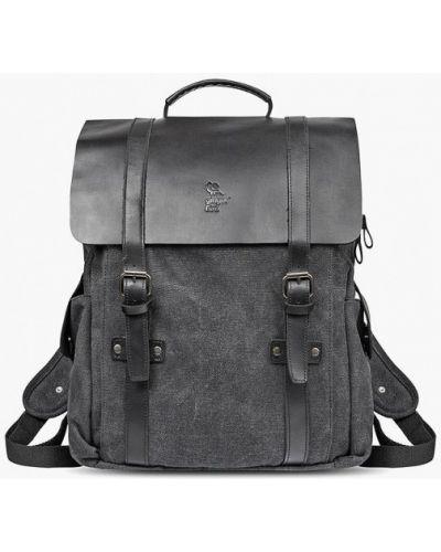 Рюкзак городской черный Ginger Bird